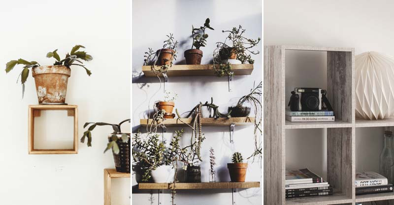 34 DIY Shelving Concepts That Are as Beautiful as They