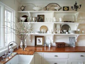 Design Concepts for Kitchen Shelving and Racks