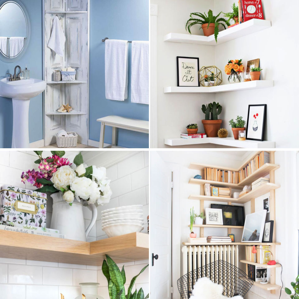 20 DIY Nook Shelf Concepts with Directions and Loose Plans