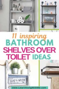 11 Inspiring Concepts for Toilet Cabinets over the Rest room