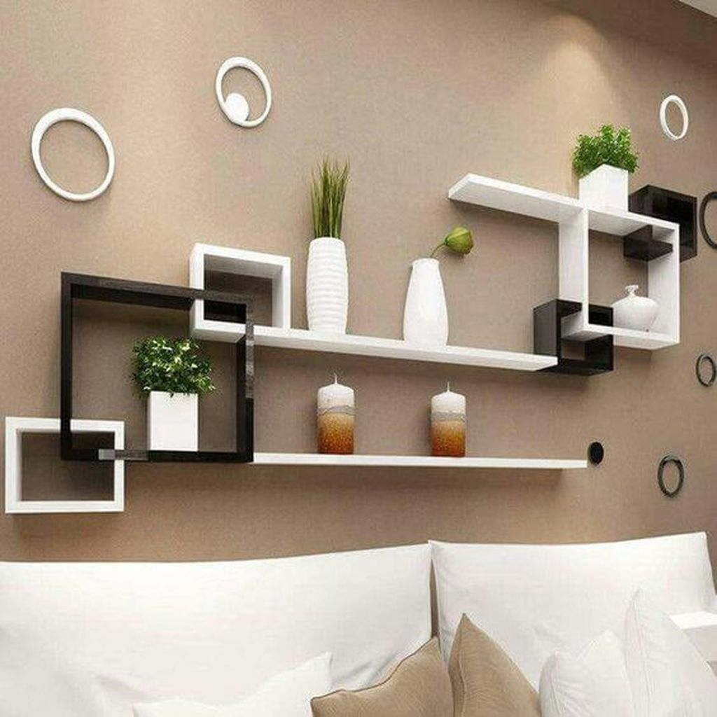 35 Surprising Floating Cabinets For Residing Room Decor Concepts