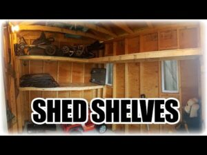 The right way to Make Easy and Affordable Cabinets for a Shed