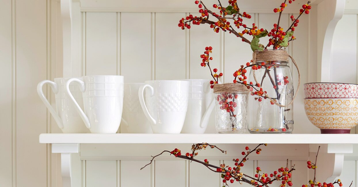 10 Festive Fall Kitchen Adorning Concepts